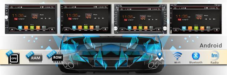 Мултимедия за кола – информация, музика и навигация в едно